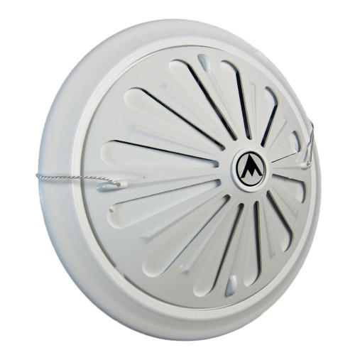 Grila ventilatie circulara cu jaluzele cu fir Dospel D/15 WR