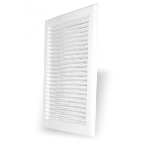 Grila ventilatie rectangulara cu plasa de insecte Dospel DL 90x240 RW