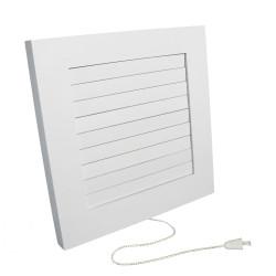 Grila ventilatie rectangulara cu jaluzele fir Dospel IMPERIO 100