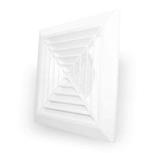 Grila ventilatie rectangulara cu plasa de insecte Dospel KKS 165