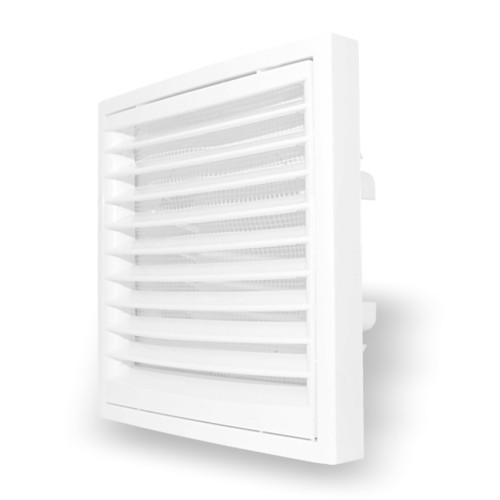 Grila ventilatie rectangulara cu plasa de insecte Dospel KR 150
