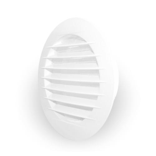Grila ventilatie circulara cu plasa de insecte Dospel KRO 150