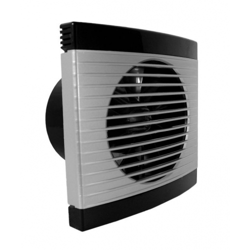 Ventilator casnic axial de perete cu temporizator Dospel PLAY Satin 100 WC
