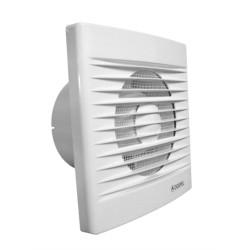 Ventilator casnic axial de perete cu temporizator si senzor umiditate Dospel STYL 120 WCH