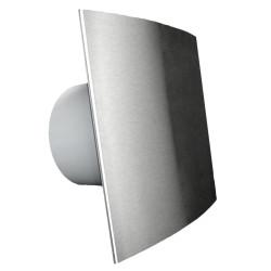 Ventilator casnic axial de perete cu temporizator si senzor umiditate Dospel Visconti 120 WCH SATIN
