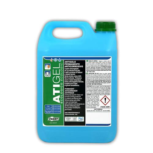 Antigel pentru instalatii termice sau solare Facot ATIGEL 6 Kg