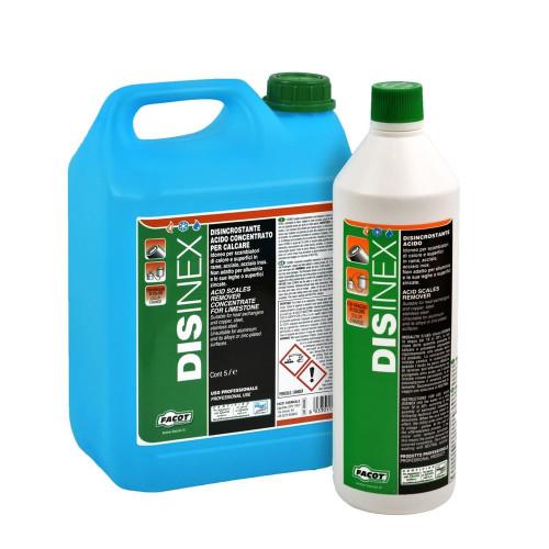 Solutie acida pentru curatat schimbatoare si instalatii de metal / cupru Facot Disinex 5 litri