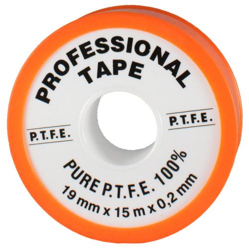 Banda teflon profesionala PTFE Facot latime 19 mm, lungime 15 m, grosime 0.2 mm