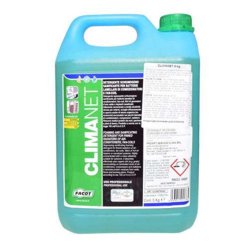 Solutie pentru curatare instalatie aer conditionat Facot Climanet 5 kg