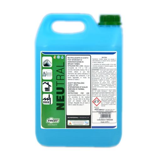 Inhibitor de coroziune si antibacterian Facot Neutral, 5 Litri, NEUTRALK005