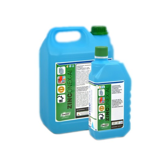 Solutie anticoroziva pentru curatat schimbatoare caldura din aluminiu si alte aliaje usoare Facot ZINCONEX-AL, 1 Litru