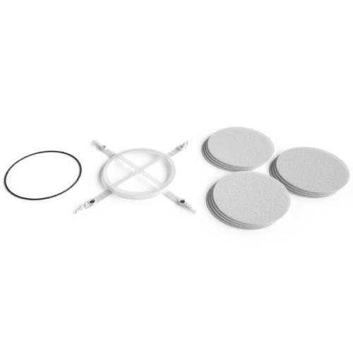 Filtru aer praf, ulei, diametru 200 mm, 12 filtre rezerva