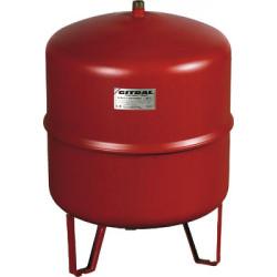 Vas de expansiune 35 litri Gitral MB 35, membrana fixa, 4 bar, incalzire, suport pardoseala