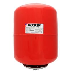 Vas de expansiune 25 litri Gitral VVEF 25, membrana schimbabila, 10 bar, universal