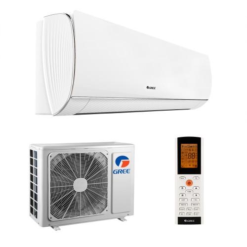 Aparat de aer conditionat Gree Fairy 24000 BTU, A++, freon R32, Control WiFi, Cold Plasma si Filtru Catechin, I Feel, Afisaj Ceas