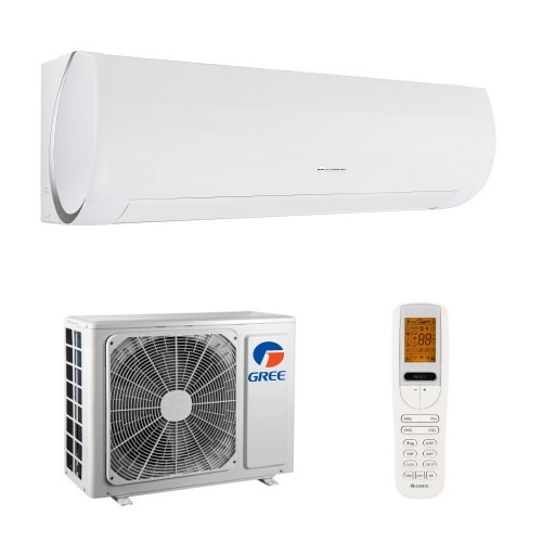 Aparat de aer conditionat Gree Muse 9000 BTU, A++, freon R32, Control WiFi, Filtru Catechin, I Feel, Afisaj Ceas, Kit instalare inclus