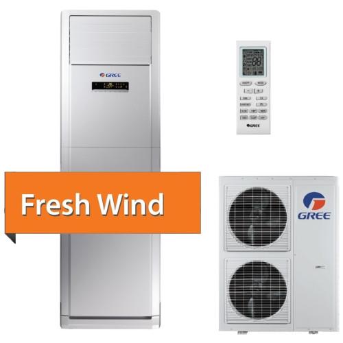 Aer conditionat coloana Gree Fresh Wind GVH48AH-M3DNA5A 42000 BTU