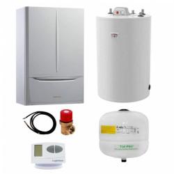 Pachet centrala termica in condesare Immergas Victrix Maior 35 TT X si boiler Atlas 150 litri