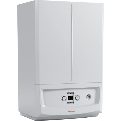 Centrala termica in condensare Immergas Victrix Zeus 25 kW, boiler inox incorporat 45 litri, kit evacuare inclus