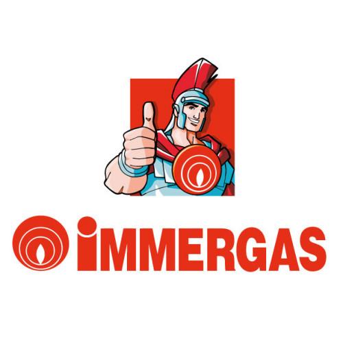 Centrala termica in condensare cu boiler inox 60 litri Immergas Victrix Zeus Superior 26 kW I, boiler incorporat, kit evacuare inclus