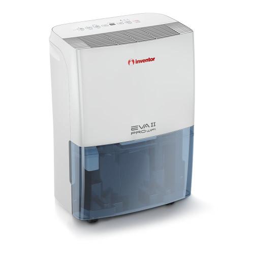 Dezumidificator casnic Inventor EVA II EP3 - WiFi20L, capacitate 20 litri, Ionizator, 3 Trepte ventilatie, Mod uscare haine, Dezumidificare inteligenta, Roti mobile