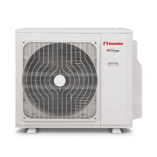 Unitate externa aer conditionat pentru sisteme multisplit Inventor 42000 BTU, maxim 5 unitati interne, Golden Fin, A++