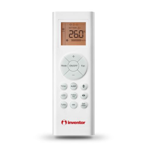 Aer conditionat Inventor Corona 18000 BTU, Filtru Sterilizare Hepa, Control WiFi, Ionizator, Silentios, alb
