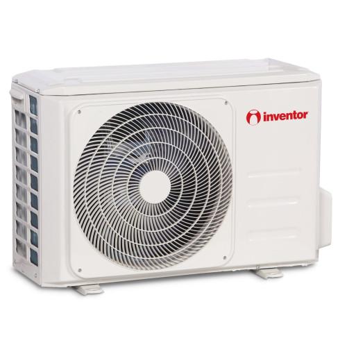 Aparat de aer conditionat Inventor Corona 12000 BTU, Filtru Sterilizare Hepa, Control WiFi, Ionizator, Silentios, alb