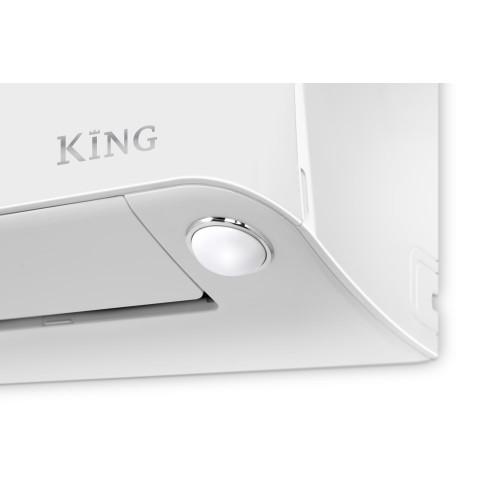 Aer conditionat Inventor King 9000 BTU, A+++, Senzor miscare, WiFi inclus, Ionizator, Filtru tripla actiune, Hepa, Autocuratare, alb