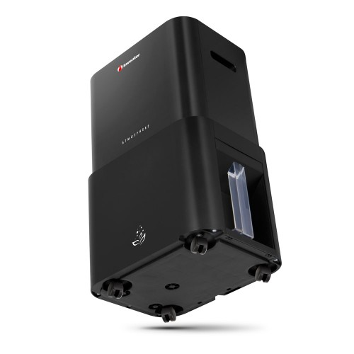 Dezumidificator si purificator aer Inventor Atmosphere, capacitate 25 litri/zi, Filtru HEPA, Indicator calitate aer, Distributie aer