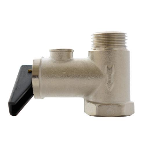 Supapa siguranta si sens boiler Kramer, racord 1/2, parghie manuala, presiune maxima 8 bar