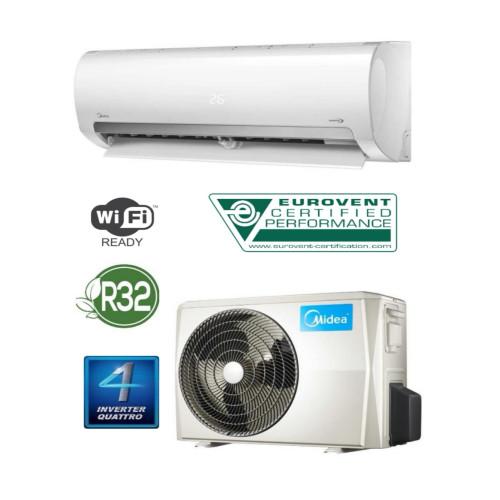 Aparat de aer conditionat Midea Prime 12000 BTU, MA2-12NXD0-12N8DO, Control WiFi, Condensator tratat anticoroziv, freon R32, A++