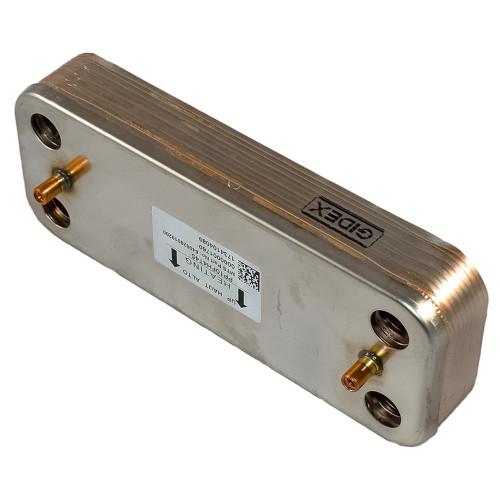 Schimbator apa calda menajera (ACM) pentru centrale termice Ariston Cares 24 kW, cod piesa 65116314