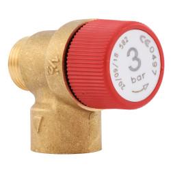 Supapa siguranta 3 bar pentru centrala termica Ariston Dia 24 si Genus 27 BI, cod piesa 571004