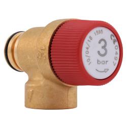 Supapa siguranta 3 bar pentru centrala termica Ariston TX 23, UNO 24, cod piesa 65103222