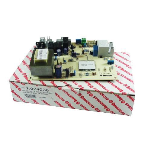 Placa electronica pentru centrala termica Immergas Eolo Mini 24 / 28 KW si Eolo Star KW, cod piesa 1.024038