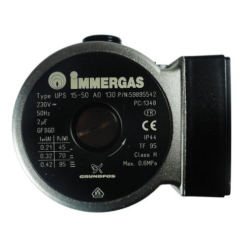 Pompa circulatie pentru centrala termica Immergas Eolo Star, cod piesa 1.015561 (3.021396)
