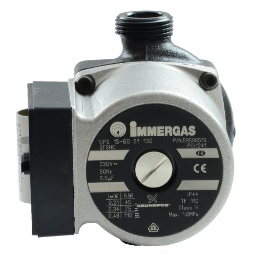 Pompa circulatie pentru centrala termica Immergas GRUNDFOS 15-60, cod piesa 1.A090