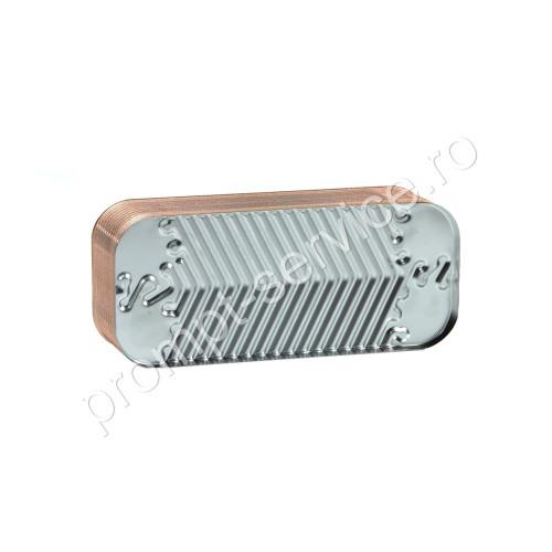 Schimbator apa calda menajera (ACM) pentru centrala termica Immergas Maior 28 / 32 kw, cod piesa 3.015360