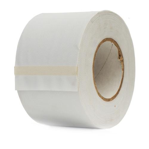Banda de matisat PVC alba neadeziva, latime 5 cm, lungime 25 m