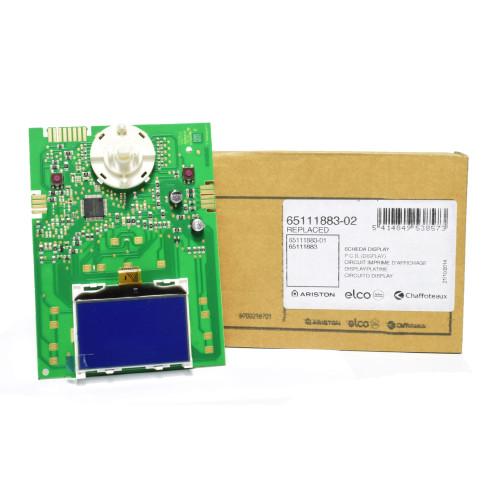 Placa electronica afisaj pentru centrala termica Ariston Clas Premium EVO 24, cod piesa 65111883-02