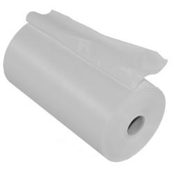 Banda de matisat PVC alba neadeziva, latime 10 cm, lungime 25 m