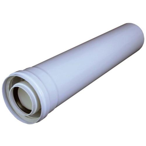 Prelungire kit evacuare centrala termica condensare PP 1 m D=60/100 Regulus 9597