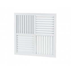 Grila ventilatie multiredirectionala rectangulara Vents NK 600x600-H2V2