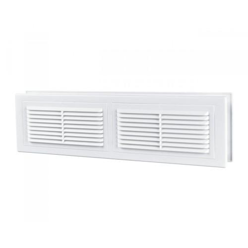 Grila ventilatie rectangulara Vents MV 380/2 s, ABS