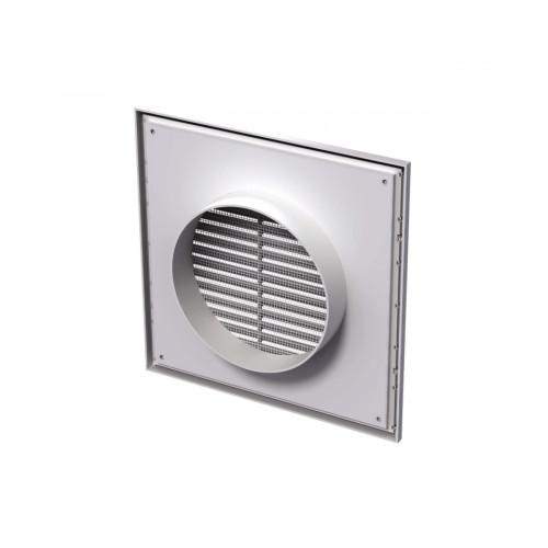 Grila ventilatie rectangulara cu plasa de insecte Vents MV 250/150 Vs, ABS