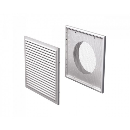 Grila ventilatie rectangulara cu plasa de insecte Vents MV 250/150 Vs