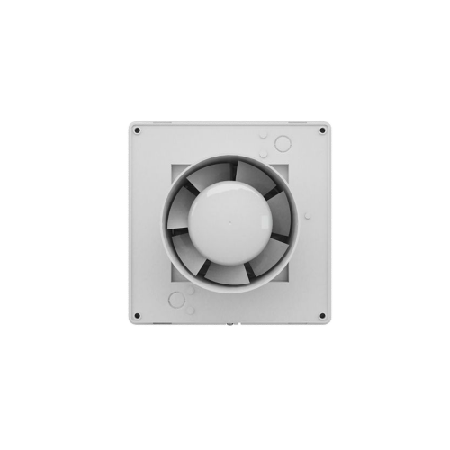 Ventilator casnic axial de perete cu jaluzele automate timer si senzor umiditate Vents 100 MATH
