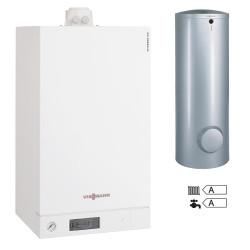Centrala termica in condensare Viessmann Vitodens 100-W B1HC171 26 kW pachet boiler 200 litri