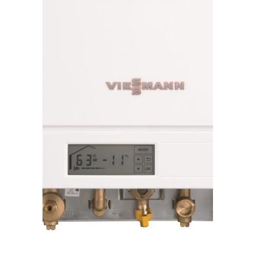 Centrala termica in condensare Viessmann Vitodens 100-W B1HC174 35 kW pachet boiler 200 litri